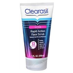 Clearasil Ultra Rapid Action Acne Scrub 2 Salicylic Acid Acne Medication 5 fl oz >>> Visit the image link more details. (Note:Amazon affiliate link)