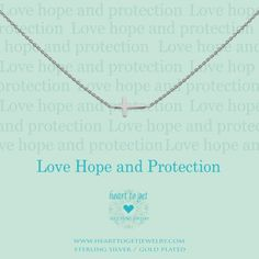 Cross necklace (Heart to Get - Classic collection) / Available in: silver, rose, gold + bracelet