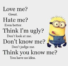 75 Best Funny Quotes Life And Funny Sayings 28 Me Quotes Funny, Happy Quotes, Funny Jokes, Life Quotes, Funny Sayings, Happiness Quotes, Minion Jokes, Minions Quotes, Minions Minions