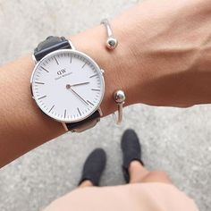 Daniel Wellington 'Classic Sheffield' Silver Watch, 36 mm   Spring - Free Shipping. On Everything