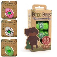 Portasaccheti in bioplastica e buste biodegradabili!!!