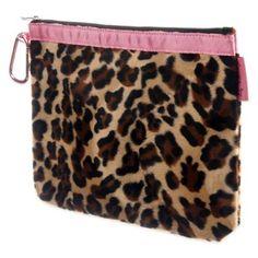 Baby Bella Maya™ Diaper Clutch in Lollipop Leopard - buybuyBaby.com