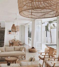 Boho Living Room, Home And Living, Living Room Decor, Living Spaces, Bohemian Living, Living Rooms, Estilo California, Inmobiliaria Ideas, Decoration Inspiration