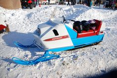 Polaris Charger Snowmobile at Tip-Up Town, Houghton Lake, MI 1-21-2012 by Corvair Owner, via Flickr