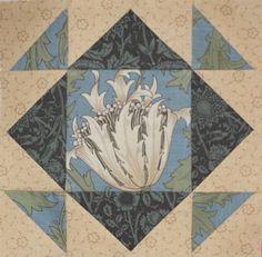 Barbara Brackman's MATERIAL CULTURE: Framing Morris Flowers
