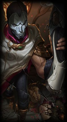 League of Legends- Jhin, the Virtuoso - Yıldız Fırsat League Of Legends Jhin, Champions League Of Legends, League Of Legends Characters, Fictional Characters, Jhin The Virtuoso, Game Character, Character Design, Game Art, Jokes