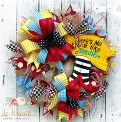 Wizard of Oz Wreath Decomesh Wreath Welcome Wreath Everyday