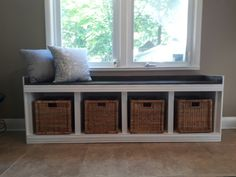 Bench for mud room