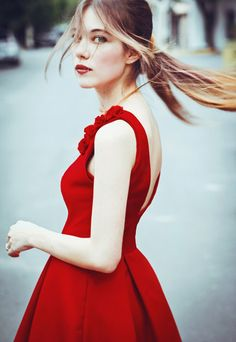 Trendy Red Dress : Classy Red Dresses