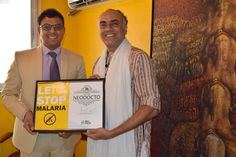 Indian film and theatre actor Rajit Kapur joined hands with NeoDocto Foundation to wipe out malaria in India.