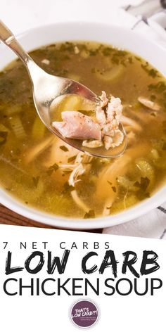 Keto Chicken Soup made in an Instant Pot is a healthy, flavorful homemade culinary cure for complicated dinners. Don't settle for canned impostors. Soup Appetizers Soup Appetizers dinners carb Soup Appetizers Appetizers with french onion Instant Pot Chicken Soup Recipe, Low Carb Chicken Soup, Chicken Soup Recipes, Healthy Chicken, Chicken Meals, Low Carb Dinner Recipes, Clean Eating Recipes, Keto Recipes, Cooking Recipes
