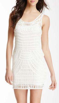 Addison Crochet Yarn Dress