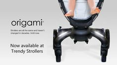 The origami by 4Moms (the ones who brought you the Mamaroo). This stroller opens and closes with the touch of a button!