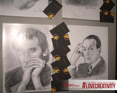 #LOVECREATIVITY  _CreativityAroundNaples   In quest appuntamento KokoDesign espone disegni e caricature fatte a mano dal bravissimo Stefano Iodice..      il disegno non vi sembrerà più lo stesso    