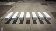 Acești băieți pur și simplu au pictat pe drum o zebră. Efectul a fost fulminant! - Perfect Ask