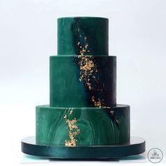 Изумрудный торт № 1730 на заказ в Москве