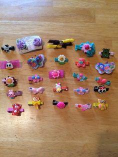 Wholesale Handmade 25 Hair Pieces Lot 19 #Handmade