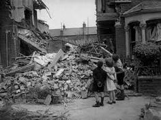 old east end of london after an attack