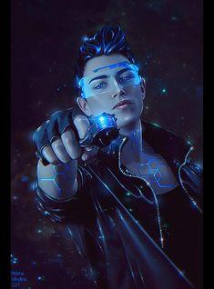 Cyberpunk 2077, Cyberpunk Girl, Arte Cyberpunk, Cyberpunk Fashion, Cyberpunk Anime, Arte Sci Fi, Sci Fi Art, Character Portraits, Character Art