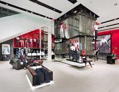 Retail Design | Store Interiors | Shop Design | Visual Merchandising | Retail Store Interior Design | Guess flagship store, New York