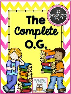 A comprehensive collection of 13 products to support Orton-Gillingham instruction. 20% off this weekend only. 9/1914-9/21/14 $ #ortongillingham #thereadingtutorog