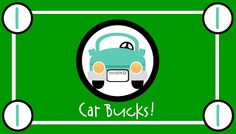 """car bucks are given for good behavior on car trips. theat can be """"cashed in"""" for souveniers, treats...FREE PRINTABLE."""