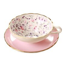 De clase alta de porcelana taza de café traje Continental creativo taza de café y platillo traje de 1 taza 1 saucer(China (Mainland))