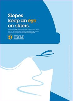 IBM Smarter Planet print ad illustrated by Noma Bar:
