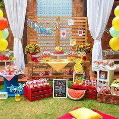 Que lindo #picnic Decor @festacomafeto  #festejandoemcasa #picnicfestejandoemcasa #festapicnic