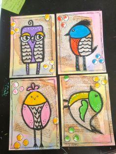 Sandra Kaye: Happy Art Swap # 9 - March