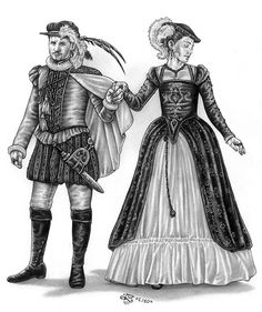 Höfische Mode                                                                                                                                                                                 Mehr