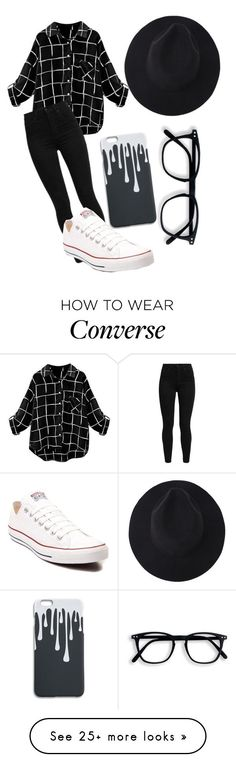 Untitled #857 by mriss-abbrie on Polyvore featuring Levi's and Converse