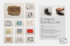 ecological business card
