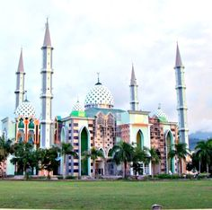 Masjid Agung Mamuju, Sulawesi Barat, Indonesia