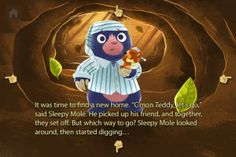 Sleepy Mole's Moving Day app review - The Horn Book