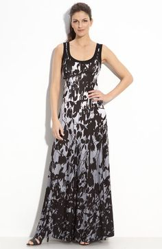 Karen Kane 'Carolyn' Reserve Seam Maxi Dress available at ...