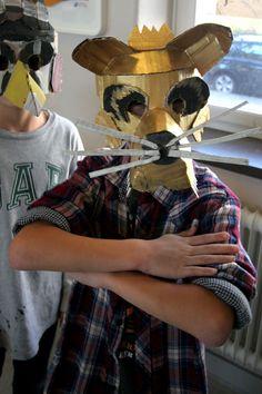 Animal mask workshop   by wrnking