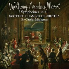 Mozart Symphonies 38-41 Charles Mackerras Scottish Chamber Orchestra Linn 24 88