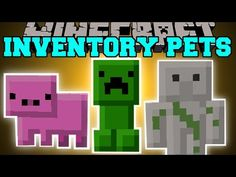 Minecraft: INVENTORY PETS MOD (INSANE SPECIAL POWERS!!) Mod Showcase - YouTube