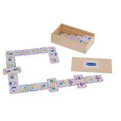 Peppa Pig Dominoes. Box of traditional wooden Dominoes.