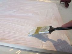 Mounting a watercolor painting on a cradled panel board, step by step tutorial