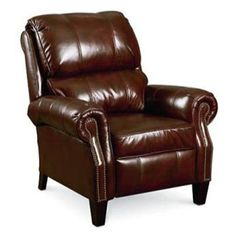 Hi-Leg Leather Push-Back Recliner   Nebraska Furniture Mart