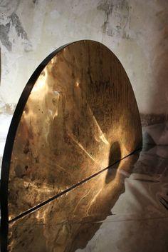 "Carlo Trucchi. The best. KAGADATO selection. ************************************** ""8 Marzo"", 2015, Italy. #erastudioapartmentgallery #erastudio #designgallery #collectibledesign #italiandesign  #carlotrucchi #artist #table #resin #wood #brass #uniquepiece #agedbrass #mimosa #iron #naturalacids #flora #ambience #places #placetobe #ottomarzo #details #artwork #contemporary #interior #craftmanship  #madeinitaly"