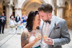 A Sponza Palace, Dubrovnik Croatia Wedding – Tara & Tim Tattooed Wedding, Wedding Tattoos, Brides With Tattoos, Dubrovnik Croatia, Wedding Photography Inspiration, Marry Me, Bride Groom, Palace, Destination Wedding