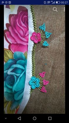 Crochet Borders, Needle Lace, Crochet Yarn, Create, Jewelry, Bangs For Round Face, Hairstyle Man, Tejidos, Flowers