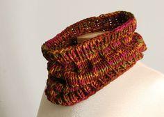 Chalet Cowl in Merino 12 yarn