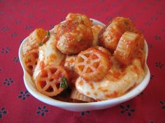Chicken Meatballs with Mini Wheel Pasta - my current go-to recipe for meatballs, even if I don't make the rest of it
