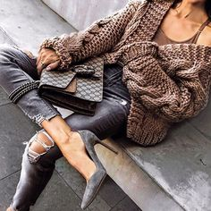 Herbst-Wintermode-Outfits 2019 Discover the details that make the difference to the best street style, unique people with lots of style Winter Fashion Outfits, Fall Winter Outfits, Look Fashion, Autumn Winter Fashion, Womens Fashion, City Fashion, Mode Outfits, Casual Outfits, Elle Moda