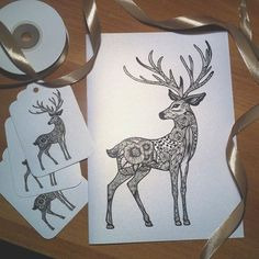 New cards & gift tags are waiting for You to celebrate Christmas and sending love! See You in Budapest  at DIP Design Market on Saturday! @dipdesignpassage November 26th! #deer #giftideas #design #drawing #bw #handmade #hungarianartist #handdrawn #christmas #reindeer #floral #cards #handmadeisbetter #etsy #gifttags #etsyshop #greetingcards #handmadecards #tags #christmasgifts #postcard #kepeslap #mik #christmascards #karacsony #dipdesignmarket #designmarket #christmasmarkets