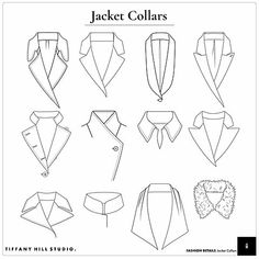 Fashion Vector Details Templates - Womens Jacket C Dress Design Drawing, Dress Design Sketches, Fashion Design Sketchbook, Fashion Design Portfolio, Fashion Design Drawings, Fashion Sketches, Clothing Sketches, Fashion Drawing Tutorial, Fashion Figure Drawing